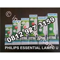Jual Philips Essential Lampu U
