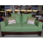 sofa hijau 2 seaters