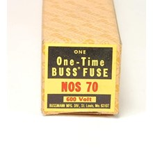 BUSS NOS-70 ONE TIME FUSE