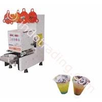 Jual Mesin Cup Sealer Otomatis Mesin Penutup Gelas Minuman Plastik Otomatis