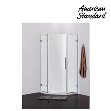 Kaca Shower American Standard Shower Enclosure Pentagon Complete with Shower Tray