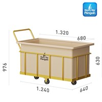 Rectangular Open Top Tank BT 50-Wet Trolley