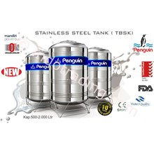 Tangki Air Stainless Steel  Tbs+K 500 (500Liter) Merk Penguin