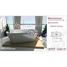 Bathtub Meridian Acrylic Crystal Manhattan