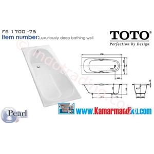 Jual Bathtub Toto Fb 1700 75
