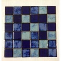 Mosaik Kolam Renang Sq Mix 3 Lantai Mosaic