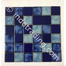 Lantai Mosaic Kolam Renang Tipe Sq Mix 3