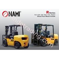 Forklift Diesel Four Wheel Seri R