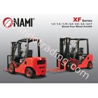 Jual Forklift Diesel Four Wheel Seri Xf