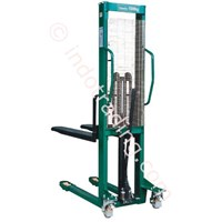 Jual Stacker Hand Manual Dengan Fixed Fork 1500Kg
