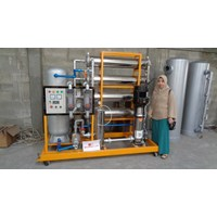 Sell REVERSE OSMOSIS RO MACHINE CAPACITY 40,000 GPD EQUIVALENT to 150.000 LITERS PER DAY