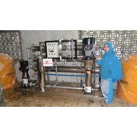 Sell REVERSE OSMOSIS RO MACHINE CAPACITY of 60,000 GPD EQUIVALENT of 220,000 LITERS PER DAY