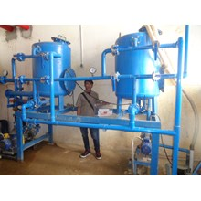 SAND FILTER DAN CARBON FILTER KAP 8 M3 PER JAM