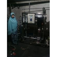 Mesin Reverse Osmosis RO 20000 GPD + cuci membran
