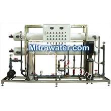 Mesin Reverse Osmosis RO 20000 GPD lengkap dengan unit pencucian membran