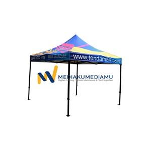 Tenda Lipat 3M x 3M By PT. Mediakumediamu