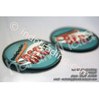 Sell Promotion Souvenir Coasters Rubber Bandung (Bec)
