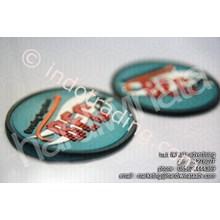 Souvenir Promosi Tatakan Gelas Karet Bandung (Bec)