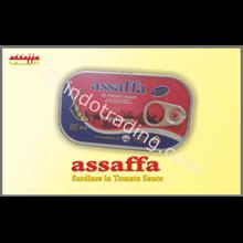 Assaffa Sarden Saus Tomat 125G