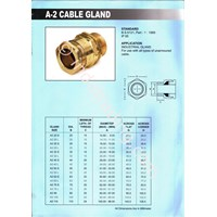 Cable Gland Unibell A2 Anarmoured