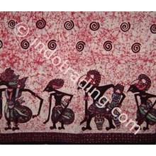 Kain Batik Tulis Motif Wayang