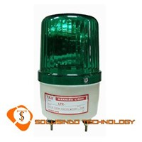 Jual Lampu Rotary Tab 220V 6 Inch Warna Hijau Dengan Buzzer