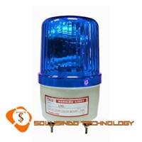 Jual Lampu Rotary Tab 220V 6 Inch Warna Biru Dengan Buzzer