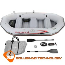 Inflatable boat (Rubber Boat) Intex Mariner 4 (68376)