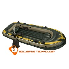 Inflatable boat (Rubber Boat) Intex Seahawk 4 (68351)