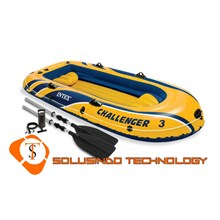 Inflatable boat (Rubber Boat) Intex Challenger 3 (68370)