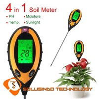4-In 1 Soil Tester LCD KC-300