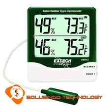 Extech 445713 Big Digit Indoor Outdoor Hygro-Thermometer