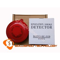 Sell Smoke Detector (Alat Pendeteksi Asap) Hong Chang Hc-202D