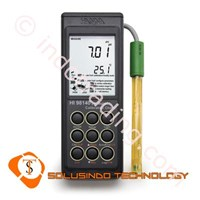 Portable Ph Meter With Smart Electrode Hanna Hi 98140