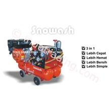 Mesin Cuci Motor + Kompresor + Tabung Salju 15 Liter Merk Shark