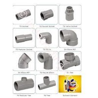 Sell PVC Pipe Fitting price Rucika and Pvc Wavin Standard Aw