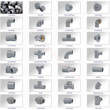 PVC Pipe Fittings Galvanized Iron PVC fittings PPR
