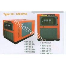 Silent Type Diesel Generator 120Kva