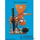 Press Machine Interlocking Brick Red Without Fuel