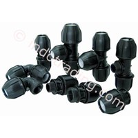 Fitting Hdpe-Pp Compression Fitting-Segmented-Electro Fusion