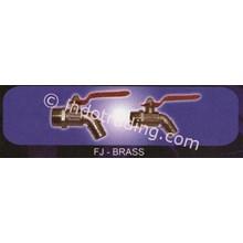 Stop Kran Fj Brass