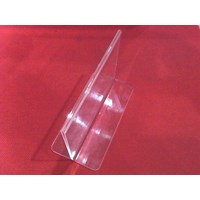 Jual Acrylic Tempat Brosur Jepit 10 Cm X 15 Cm