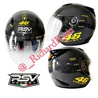 Jual Helm Half Face Rossi 46 Project