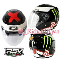 Jual Helm Half Face Lorenzo RPHA X