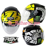 Jual Helm Half Face Rossi Winter Test Grey
