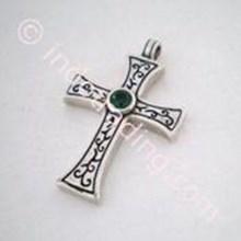 Perhiasan Perak Salib