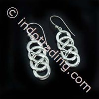 Double Infinity Earring