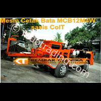 Mesin Cetak Bata Tipe Mcb12m4w With Elektrik Starter