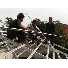 Pemasangan Rangka Atap