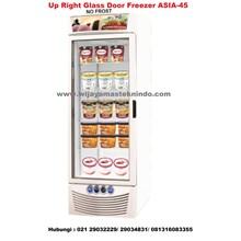 Up Right Glass Door Freezer ASIA-45 (Kulkas Dan Freezer)